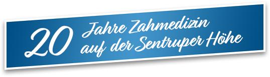 20 Jahre Zahnmedizin auf der Sentruper Höhe