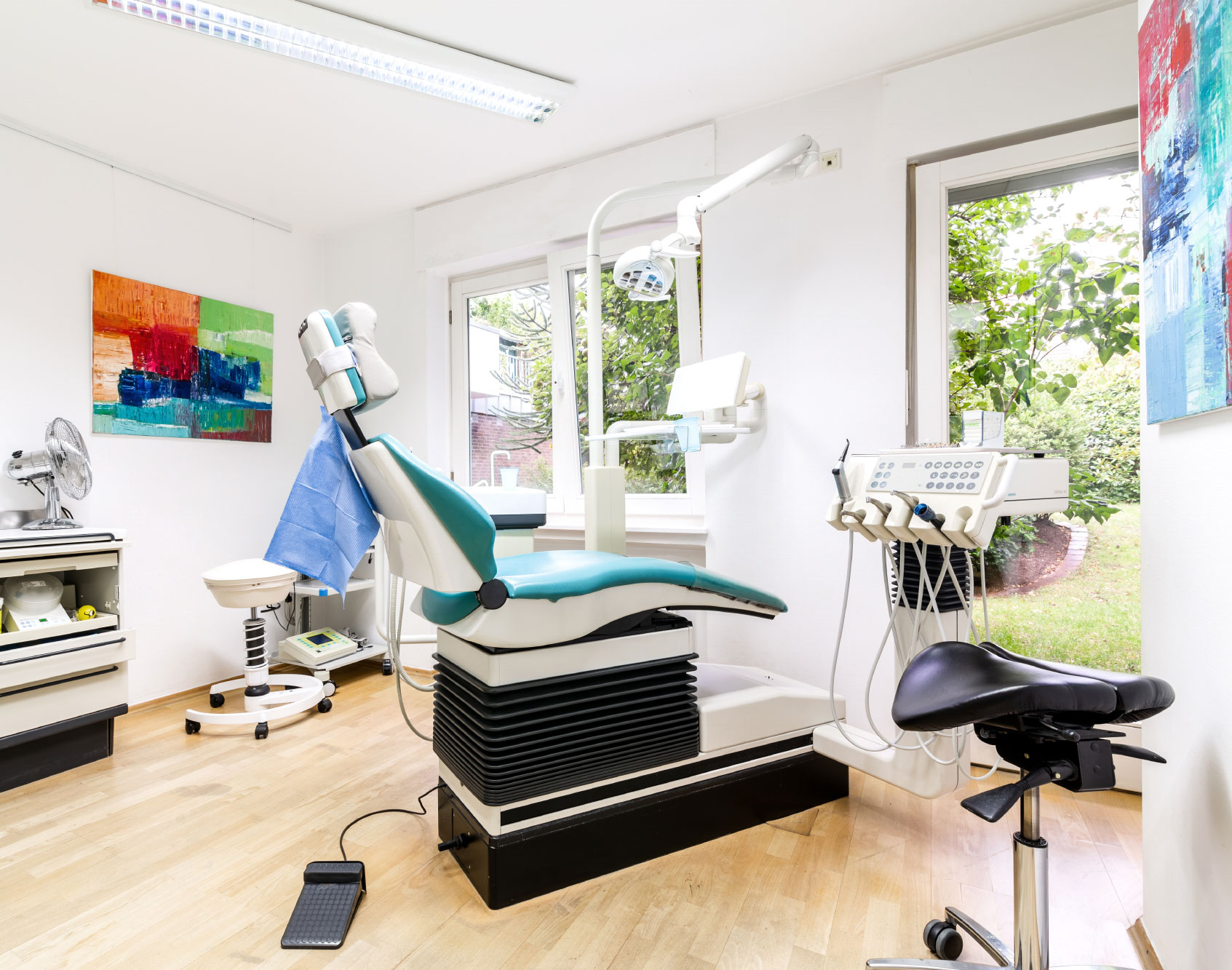 Behandlungszimmer - Zahnarztpraxis Clasen
